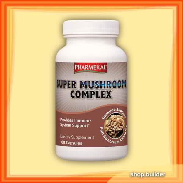 Pharmekal Super Mushroom Complex 100 kap.