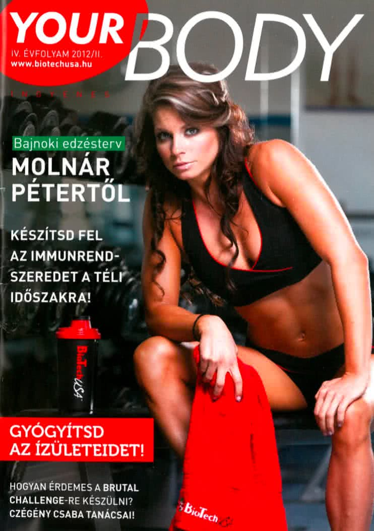 Könyvek/Magazinok Your Body 2012/II.