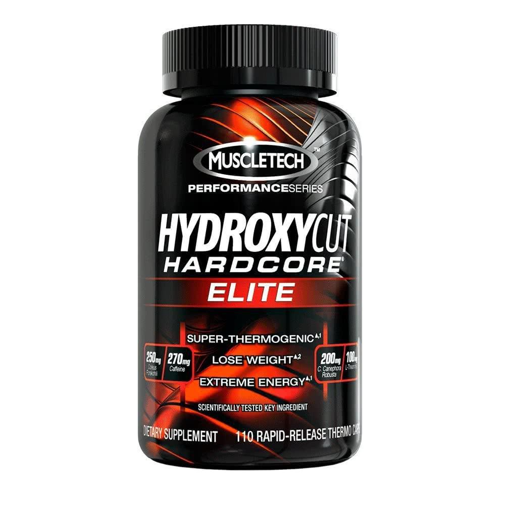 MuscleTech Hydroxycut HardCore ELITE Pro Series 110 kap.