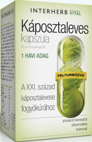 Interherb Káposztaleves Kapszula 60 kap.