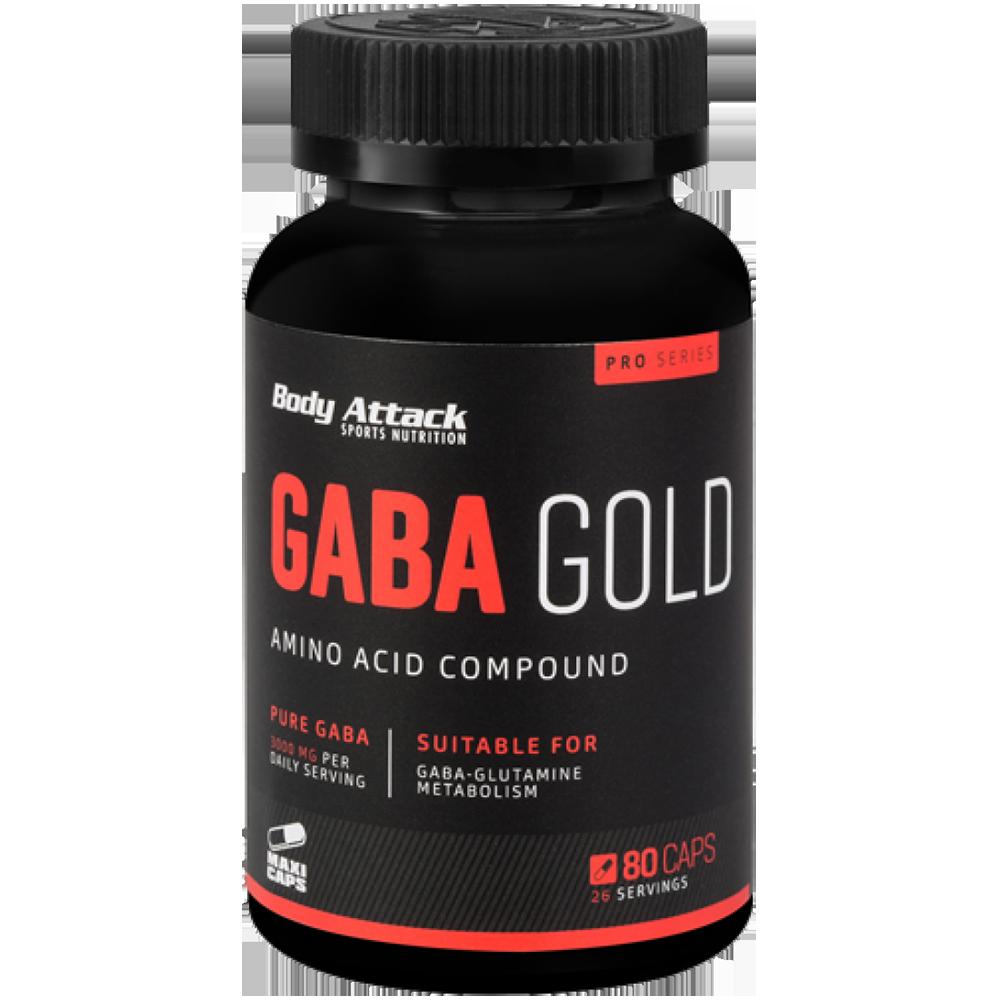 Body Attack GABA Gold 80 kap.