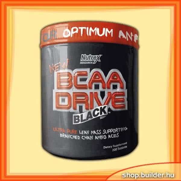 NutreX Research BCAA Drive Black 200 kap.