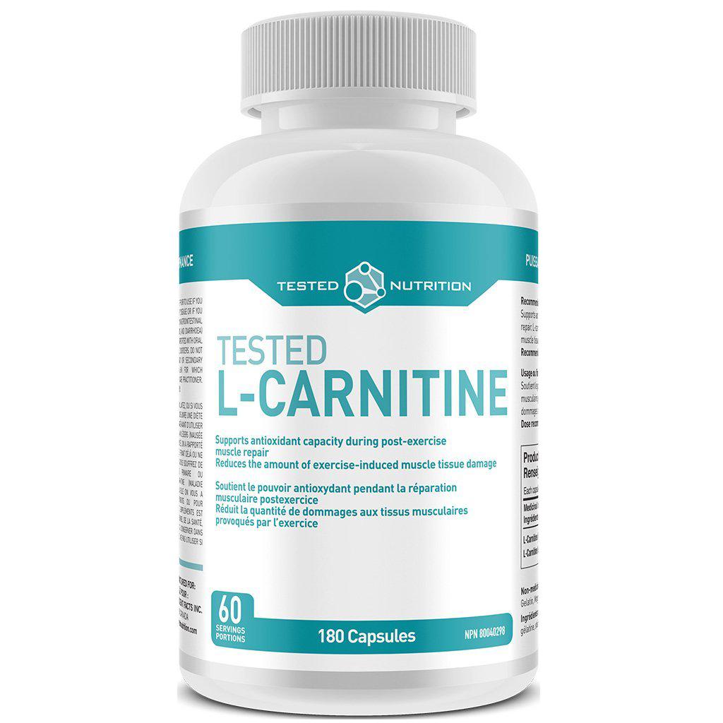 Tested Nutrition Tested L-Carnitine 180 kap.