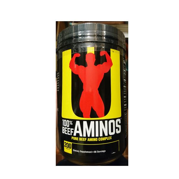 Universal Nutrition Beef Aminos 200 tab.