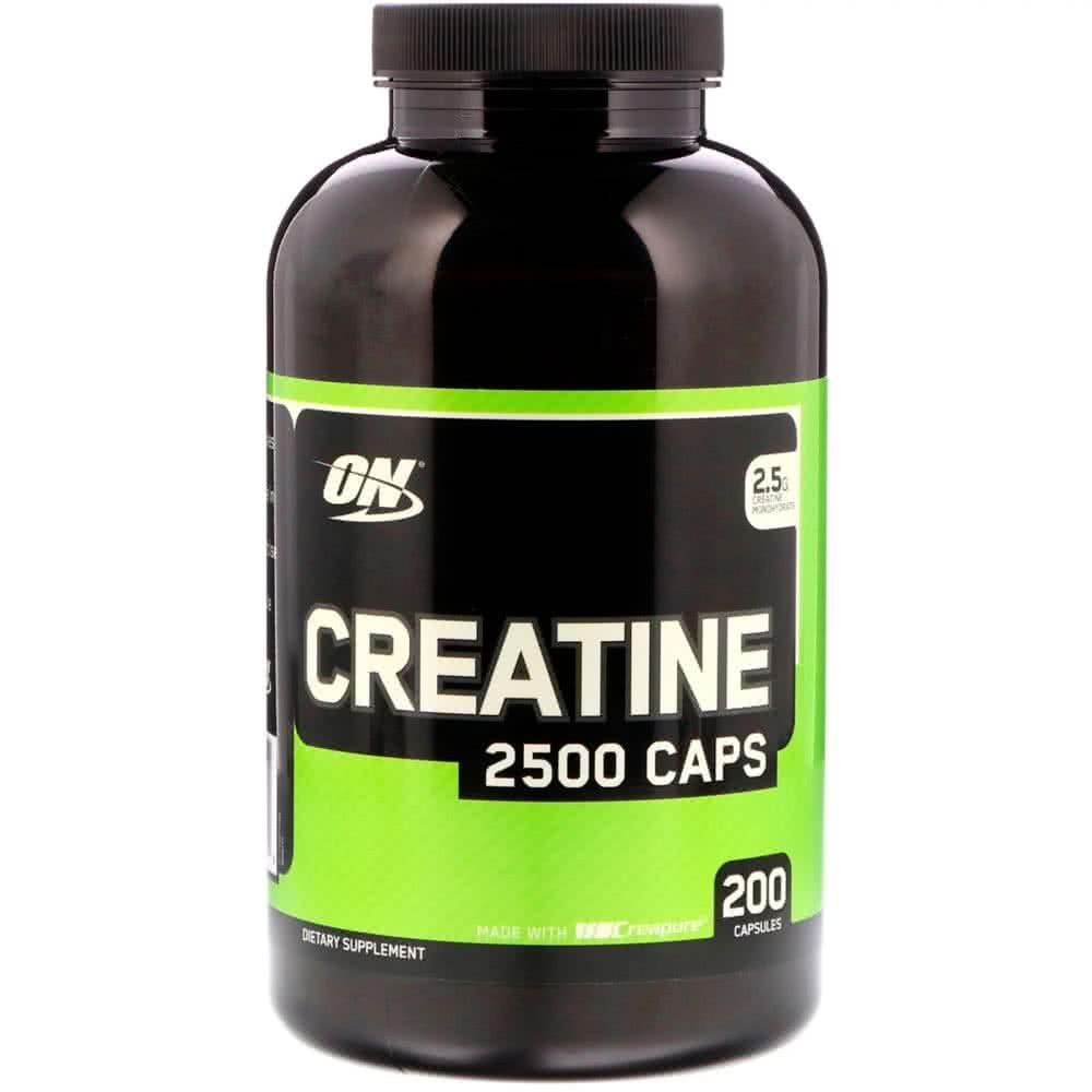 Optimum Nutrition Creatine 2500 Caps 200 kap.