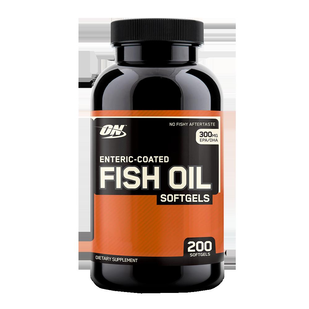 Optimum Nutrition Enteric Coated Fish Oil 200 g.k.