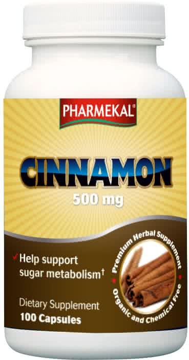 Pharmekal Cinnamon Caps 100 kap.