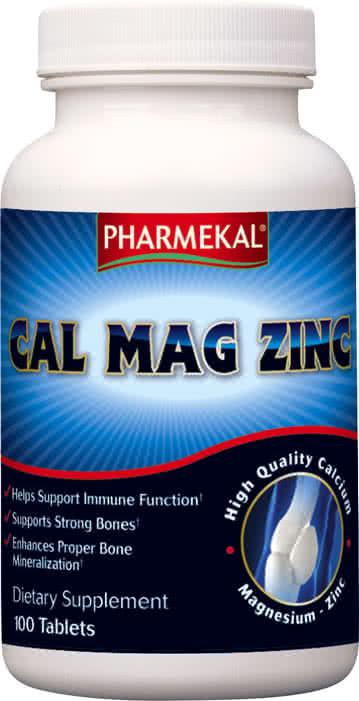 Pharmekal Cal Mag Zinc 100 tab.
