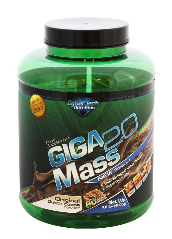 CyberTech Nutrition Giga Mass 20 4 kg