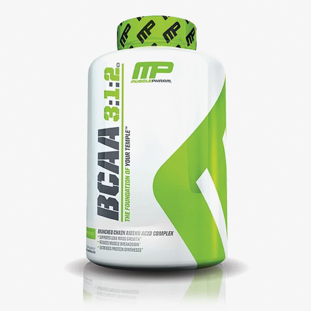MusclePharm BCAA 3:1:2 240 kap.