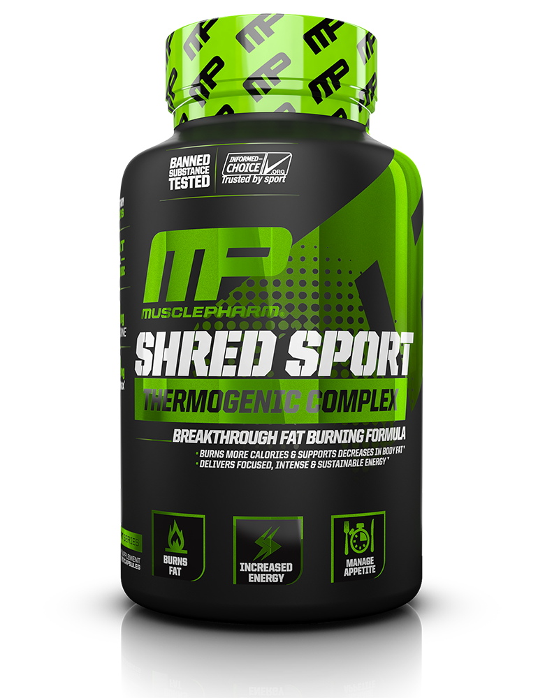 MusclePharm Shred Sport 60 kap.