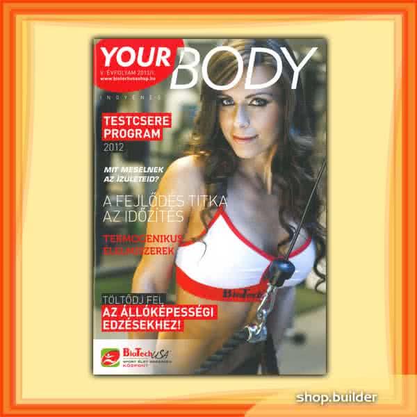 Könyvek/Magazinok Your Body 2013/01