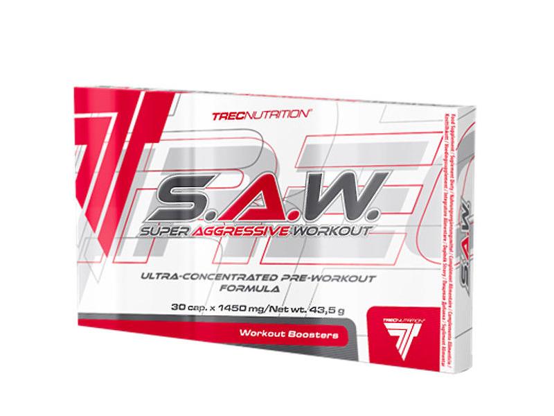 Trec Nutrition S.A.W. Blister Caps 30 kap.