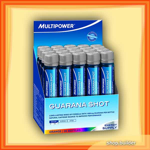 Multipower Guarana Shot 20x25ml