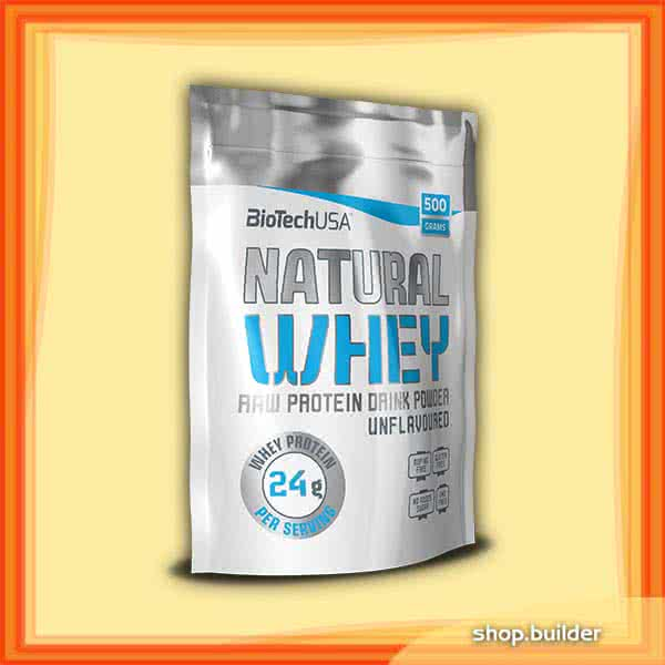 BioTech USA Natural Whey 0,5 kg