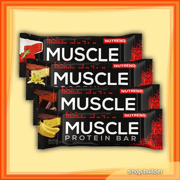 Nutrend Muscle Protein Bar 22% 55 gr.