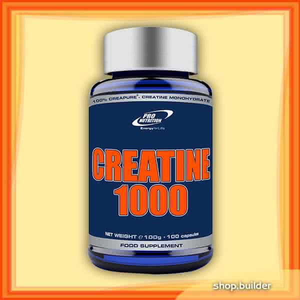 Pro Nutrition Creatine Capsules (1000 mg) 100 kap.