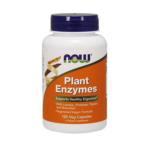 Now Foods Plant Enzymes 120 kap.