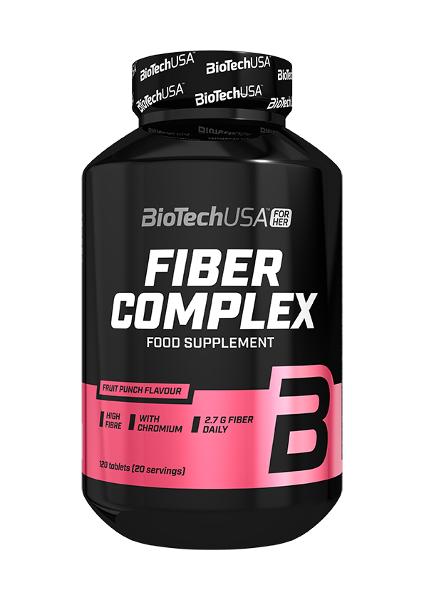 BioTech USA Fiber Complex For Her 120 tab.